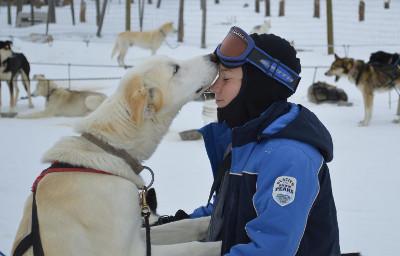 Dog Sled Rides of Winter Park, Colorado.